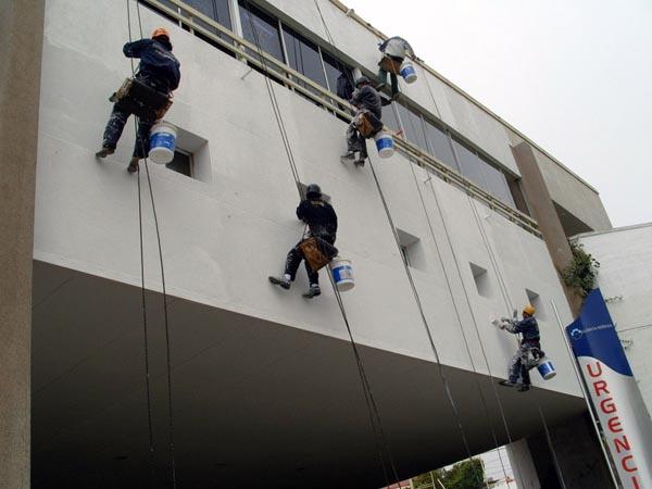 Emc construcciones pintado de edificios y pintura en - Pintado de fachadas ...